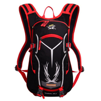 18L Light Waterproof Runnings Cycle Hydration Backpack Ripstop Bicycles Motorcycles Back Bag (Optional 2L TPU Water Bladder)