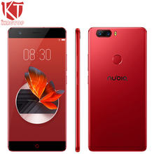 Original ZTE Nubia Z17 Waterproof 5.5″ Mobile Phone 6GB RAM 64GB ROM Snapdragon 835 Octa Core 23MP Camera Android 7.1 Cell Phone