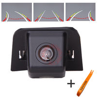 CCD car track camera reversing trajectory For Toyota Prius Car rear view Camera waterproof NTSC PAL ( Optional) night vision