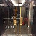 Китайская антикварная благоприятная ручка с облаками  Современная титановая Серебряная световая ручка  Европейская стеклянная дверная ру...