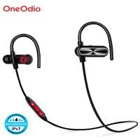 Oneodio New Ear Hook Headphones IPX7 Waterproof Hands Free Bluetooth Earphone Sport Fitness Headphones With Mic