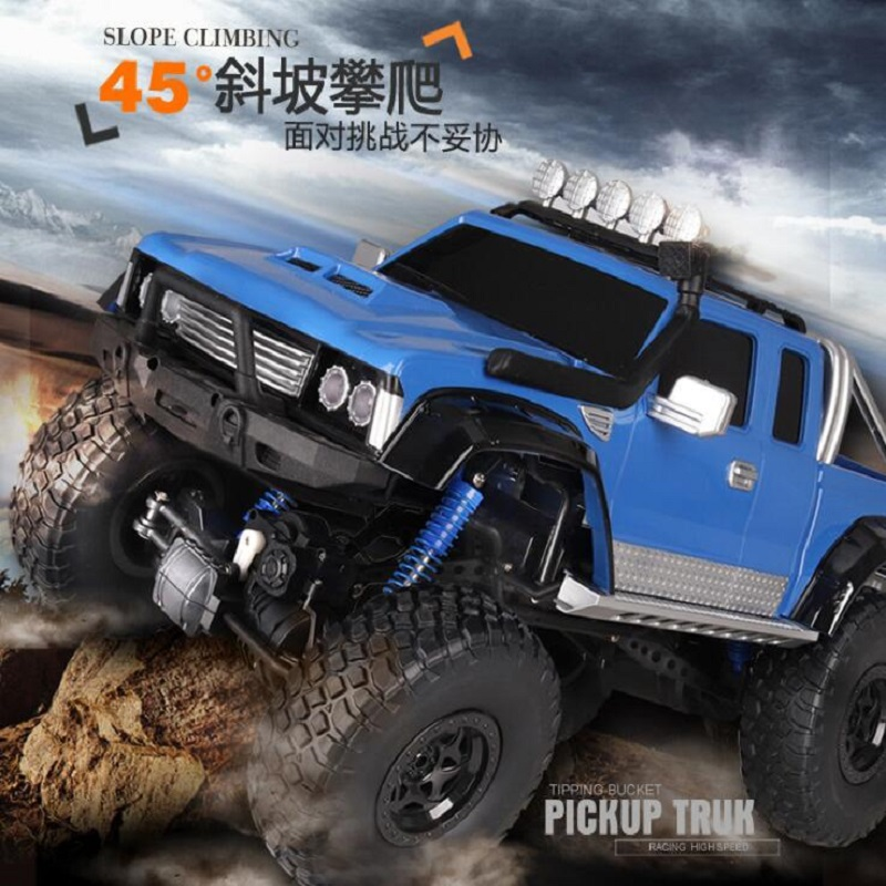 Best Off Road Tires 2018 >> Us 107 0 2018 Full Scale 51cm Big Foot High Speed Best Price Fast Climbing Off Road Car Rc Toy Child Toy Car Boy Racing Pickup Car In Rc Cars From