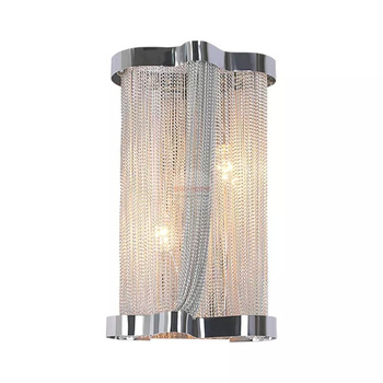 Cadena De Aluminio Moderna Con Borlas, Lámparas De Pared De Lujo A La Moda, Luces LED Para Dormitorio, Escaleras, Luces Atlantis Para Aplique De Pared Para El Hogar
