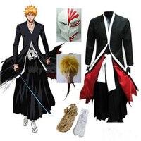 Bleach Cosplay New Japanese Anime Bleach Ichigo Kurosaki Bankai Kurosaki Ichigo Cosplay Costume
