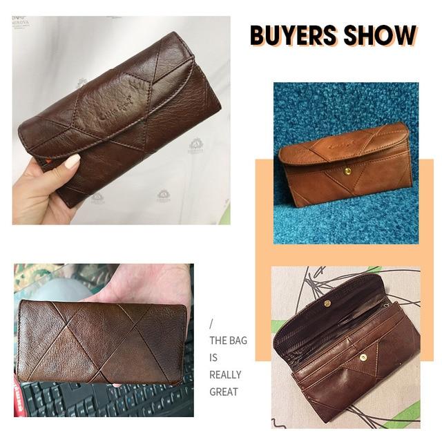 Diamonds Patchwork Leather Clutch 4