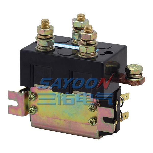 SAYOON DC 48V contactor CZWT150A , contactor with switching phase, small volume, large load capacity, long service life. sayoon dc 36v contactor czwt200a contactor with switching phase small volume large load capacity long service life