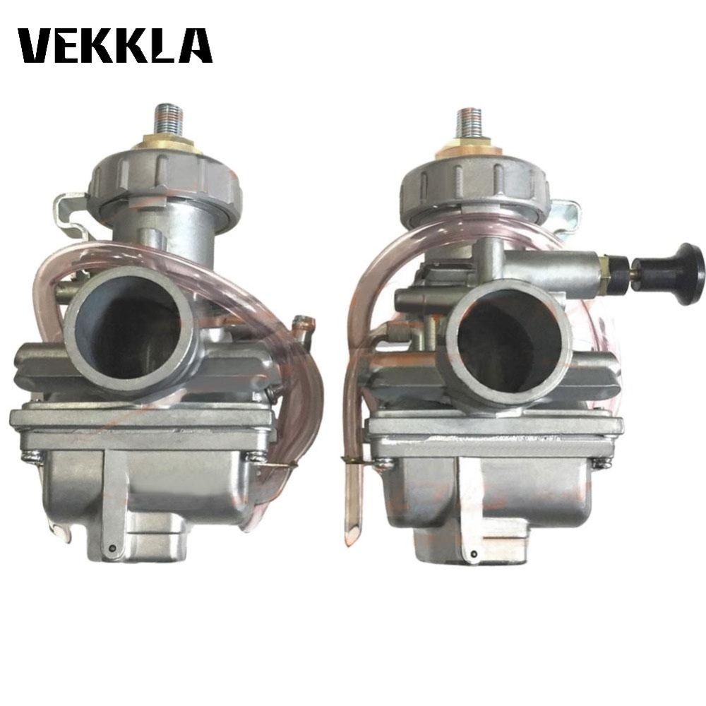 Power Tools Accessory 350 Carburetor 1987 2006 YFZ350 Right Left Side Carb With Inline Fuel Filter4
