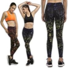 Calças de corrida mulheres compressão de Fitness correndo calças calças de Yoga esportes elásticas exercício ginásio feminino magro Leggings(China (Mainland))