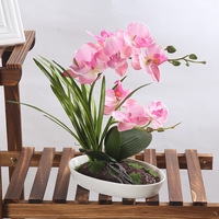 Artificial Flowers Real Touch Artificial Orchid Butterfly Orchid for new House Home Wedding Festival Decoration flower