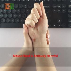 Image 5 - Alfombrilla de ratón de color sólido muñequera de memoria creativa de silicona para oficina almohada de mano ratón soporte de mano 3d alfombrilla de muñeca alfombrilla de ratón pequeña simp