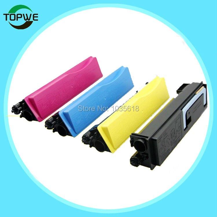 4 color compatible toner cartridge TK543  for Kyocera   FS-C5100DN copier printer tk1110 bk compatible toner cartridge for kyocera tk 1110 tk 1111 tk 1112 fs 1020 fs 1040 fs 1120 fs 1120mfp 2 5k free shipping