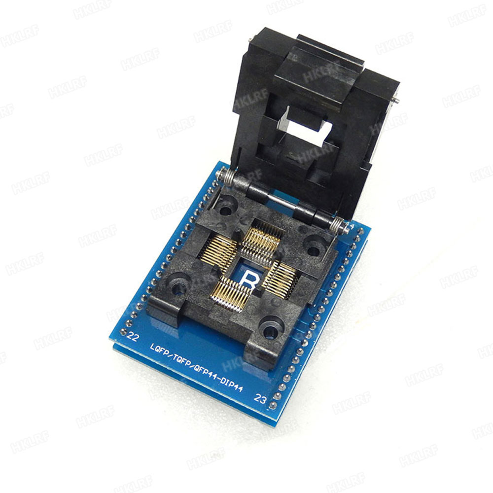 Tqfp44 To Dip44 Lqfp44 Programmer Adapter Socket For Atmel Usb Circuit Zif Usbasp Atmega8 2 Rt809h Tnm5000 Xeltek Good Quality In Integrated Circuits From