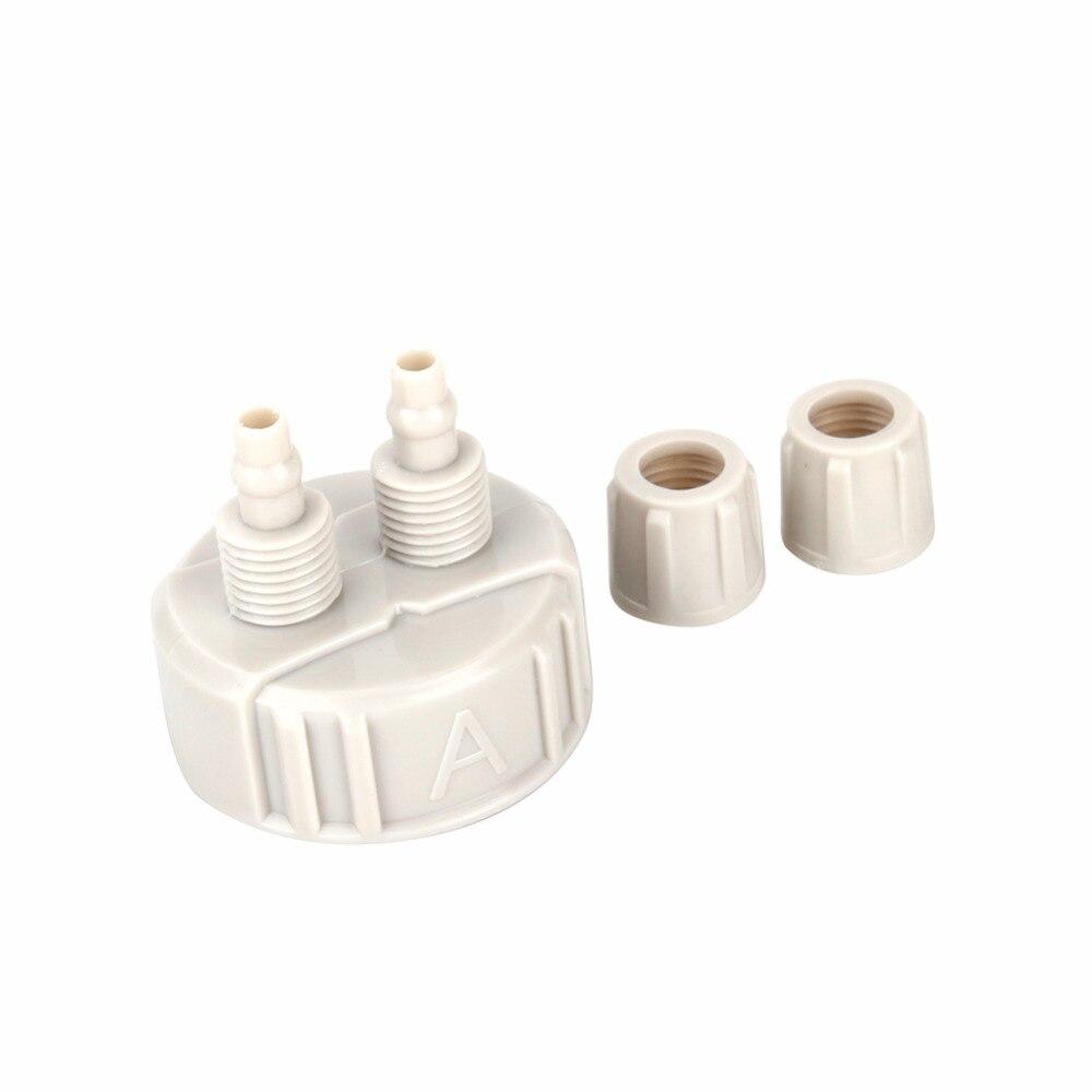 2pcs co2 system pro tube valve guage bottle cap kit for for Bottle cap hat diy