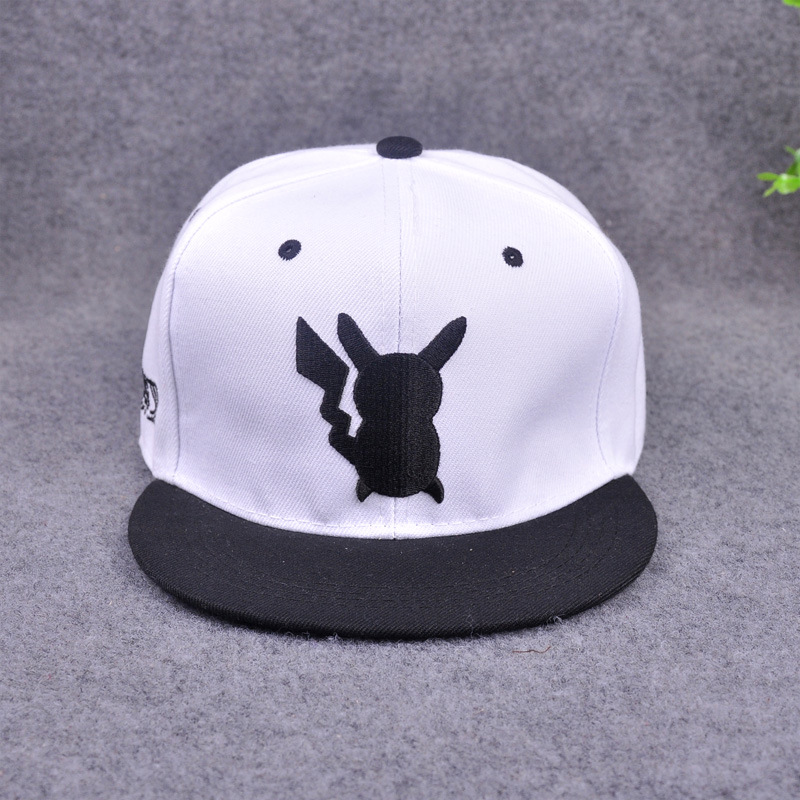 aliexpresscom buy pokemon go pikachu hat brand snapback direct the visor hat menwomen casquette hip hop caps casual hat anime baseball cap from reliable
