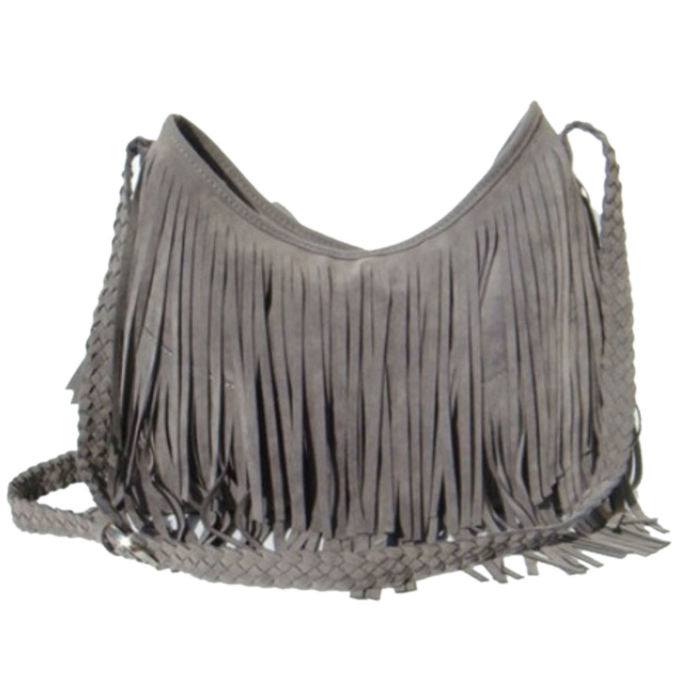 2017 moda suede weave tassel Interior : Bolso do Telefone de Pilha, bolso Interior do Zipper