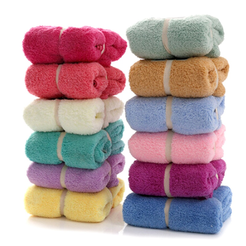 New Arrival 70*140cm Coral Bath Towels Solid SPA Bathroom Beach Terry Bath Towels for Adults And Children Hot Sale