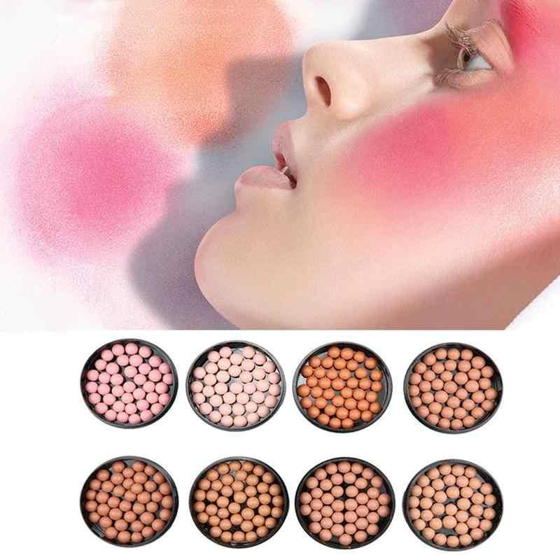 Matte Wajah Blush Bola Eye Shadow Perbaikan Blush Tahan Air Stabilo Tahan Lama Pigmen Matte Contouring Blush On Make Up