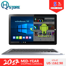 "10.1 ""Hi10 Pro Dual OS Tablet PC de Chuwi Quad Core Intel Z8350 Windows 10 + Android 5.1 4G RAM 64G ROM IPS 1920*1200 Tipo C 3.0 HDMI"