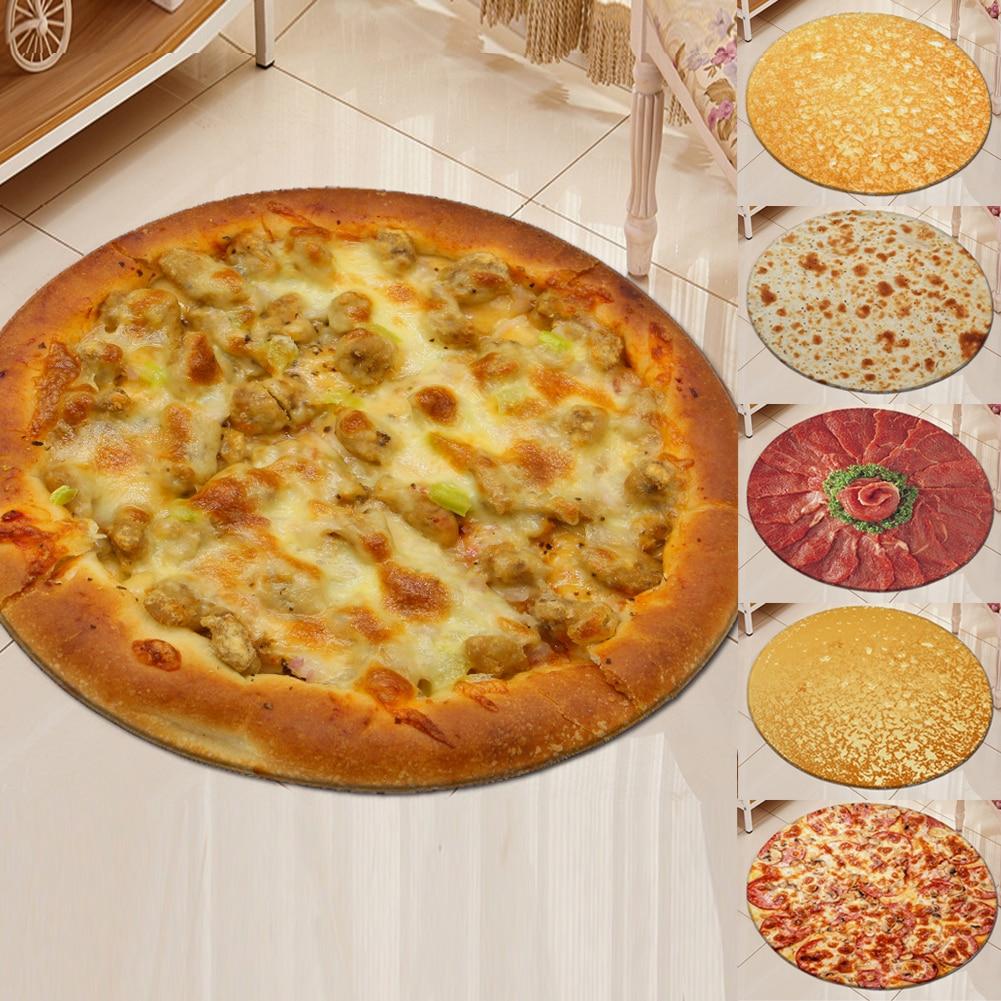 Burrito Blanket Throw Tortilla Pizza Texture Food Soft Fleece Throw Blanket