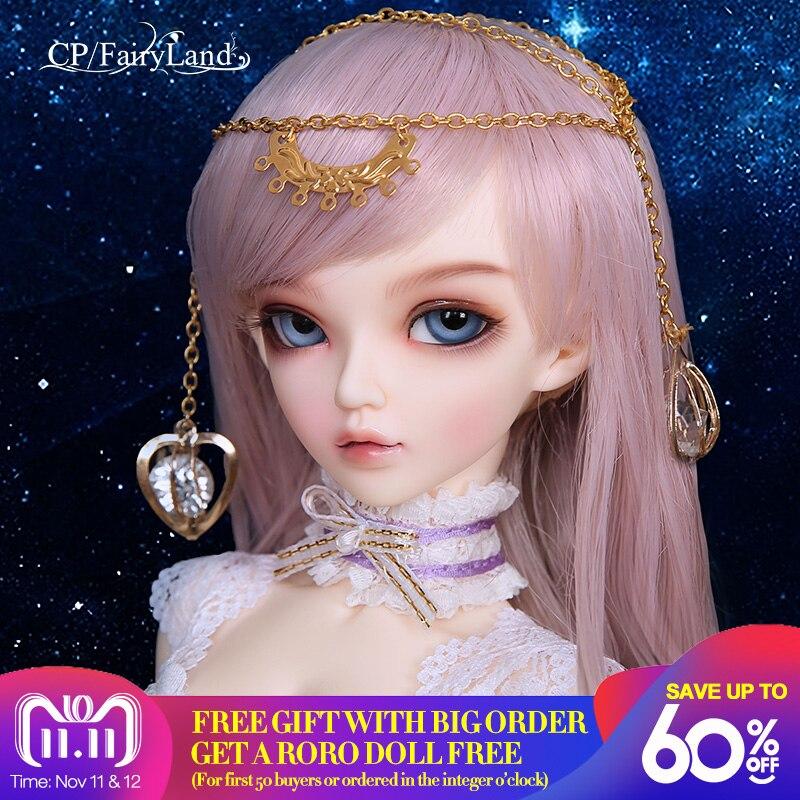 Бесплатная доставка Fairyland Minifee Chloe Celine Mio Mika FL BJD куклы 1/4 милая Мода фея игрушки без одежды для обувь девочек Подарки на день рождения
