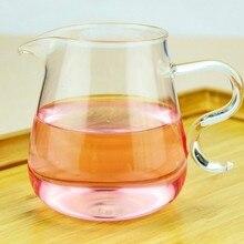1 шт. 300 мл утолщенная низкая стоимость прозрачное Термостойкое стекло ярмарка чашка чай кунг-фу аксессуары филиал JQ 1079