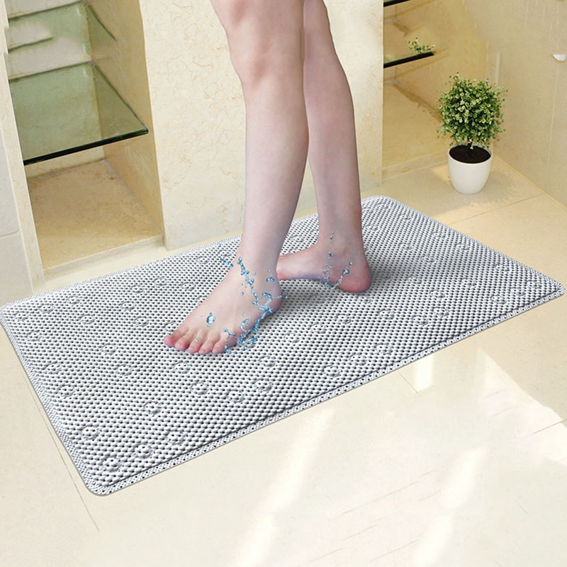 hot anti slip bathroom mats shower mat bathroom bathtub massage pad safety suckers hollow out bathroom rugs kids