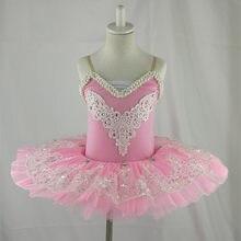 771c6cbc80 Branco ballet profissional tutu criança crianças meninas mulheres adultas  trajes de balé vestido de tutu do. 2 Cores Disponíveis