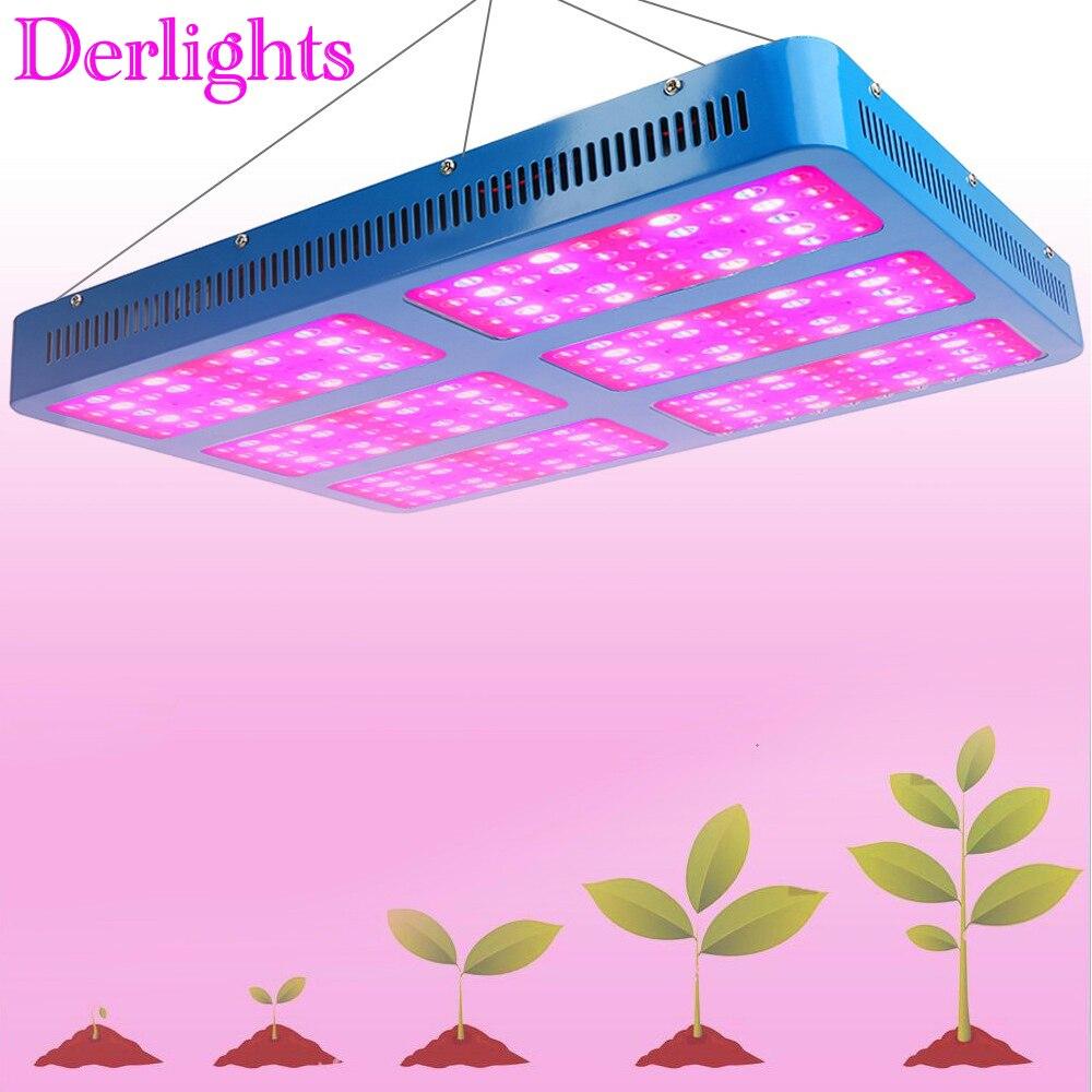 3000 W LED élèvent des lumières plein spectre fleur lampe d'intérieur pour les plantes à effet de serre systèmes hydroponiques à l'étranger entrepôt expédition rapide