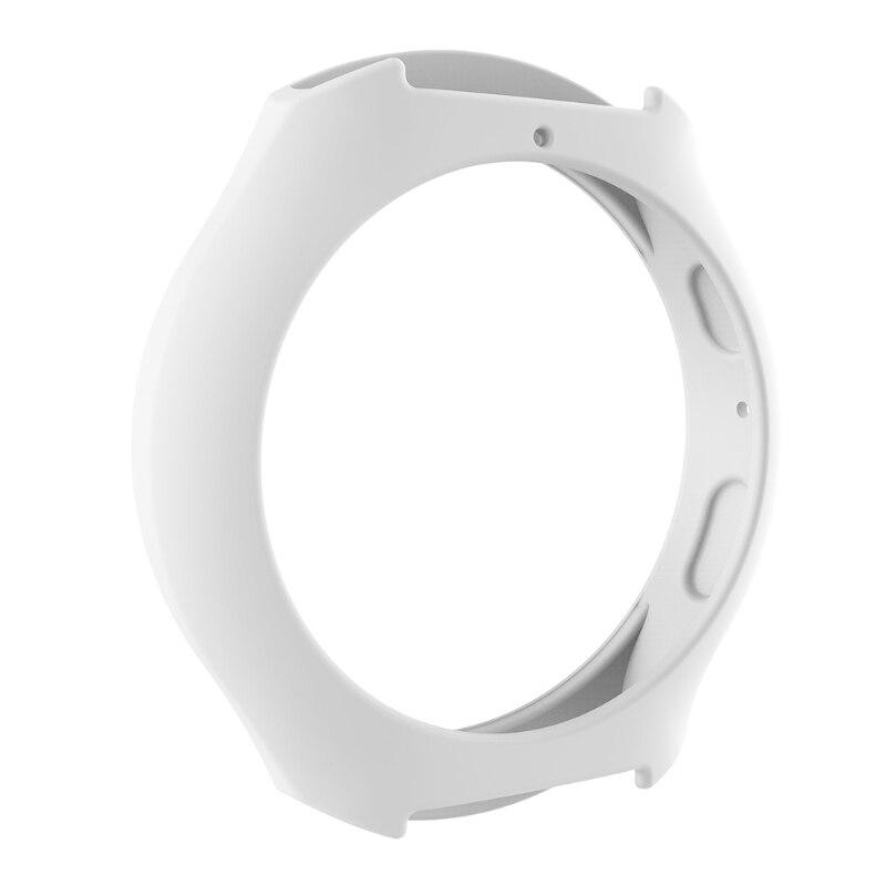 Мягкий силиконовый защитный чехол для SamsungGalaxy gear S2 SM-R720 и SM-R730 - Цвет: W