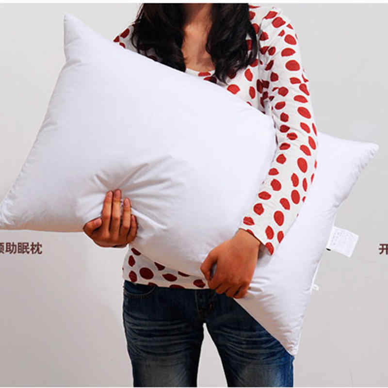 95% white goose down pillow, five-star hotel soft pillows, sleeping pillow comfortable pillow core household bedding pillow2019