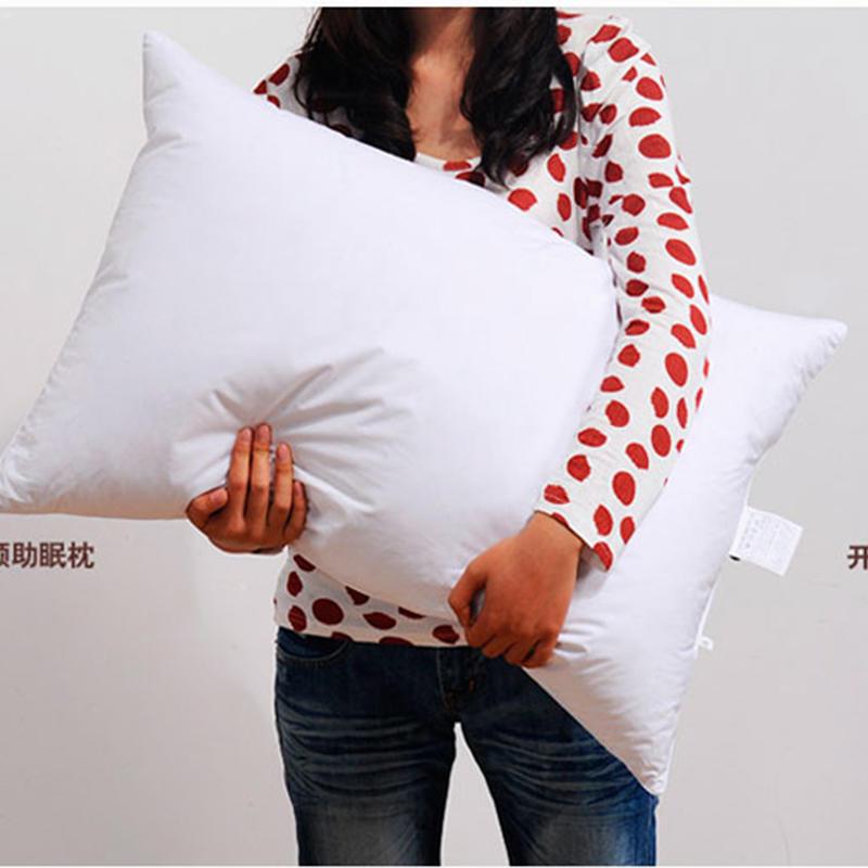 95% белая подушка на гусином пуху, пятизвездочные гостиничные мягкие подушки, подушка для сна, удобная подушка для дома, постельные принадлежности, наволочки 2019