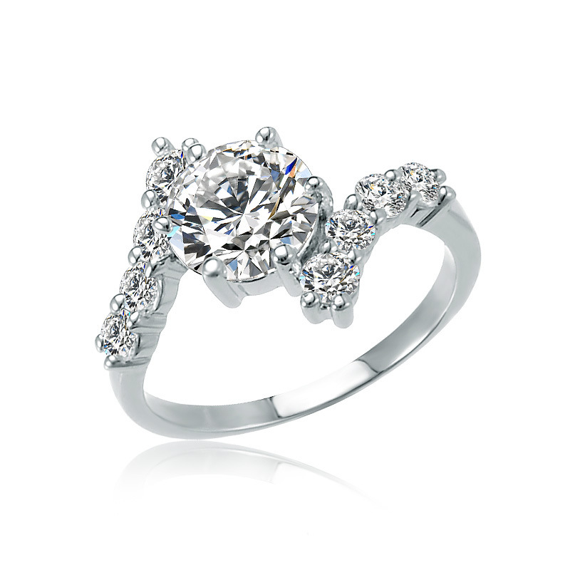 fashion wedding ring couple jewelry cross type pendants jewelry plating zircon jewelry - Wedding Ring Types