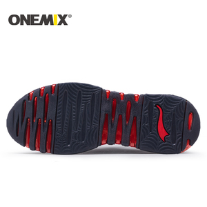 Image 4 - Onemix 2018 new men running shoes hight sneakers breathable sneakers for women outdoor trekking walking running shoes for men