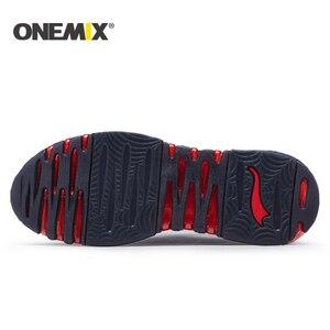 Image 4 - Onemix chaussures de course pour homme, baskets de haute qualité respirantes, chaussures dextérieur, trekking, pour la course, nouvelle collection 2018