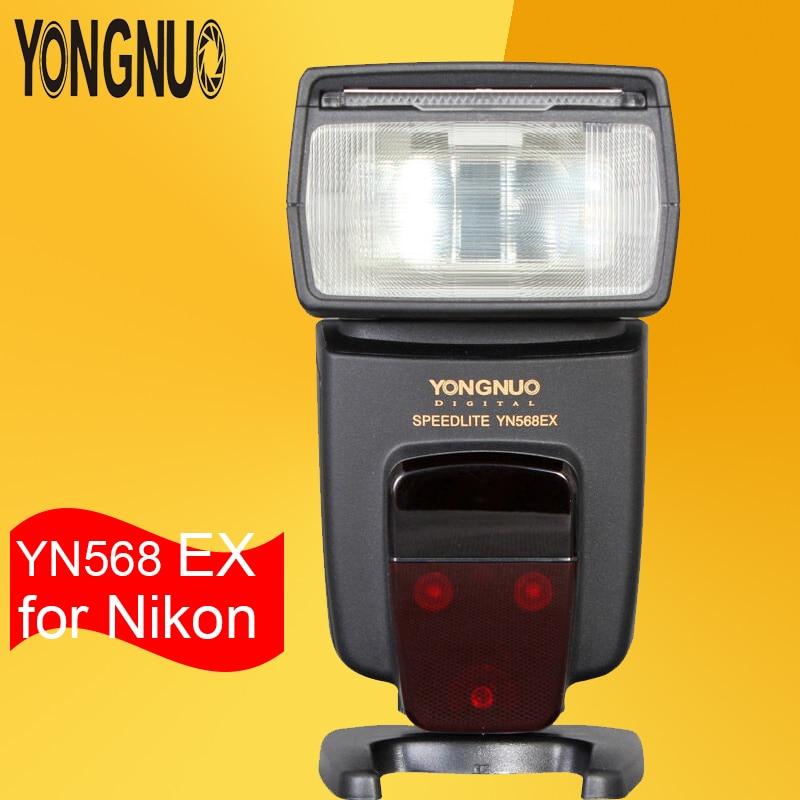 YONGNUO YN568EX YN568-EX Wireless TTL HSS Flash Unit Speedlite for Nikon Camera D4 D700 D800 D7000 D5200 D5100 D5000 D3100 5600K ironfix 568 60 700