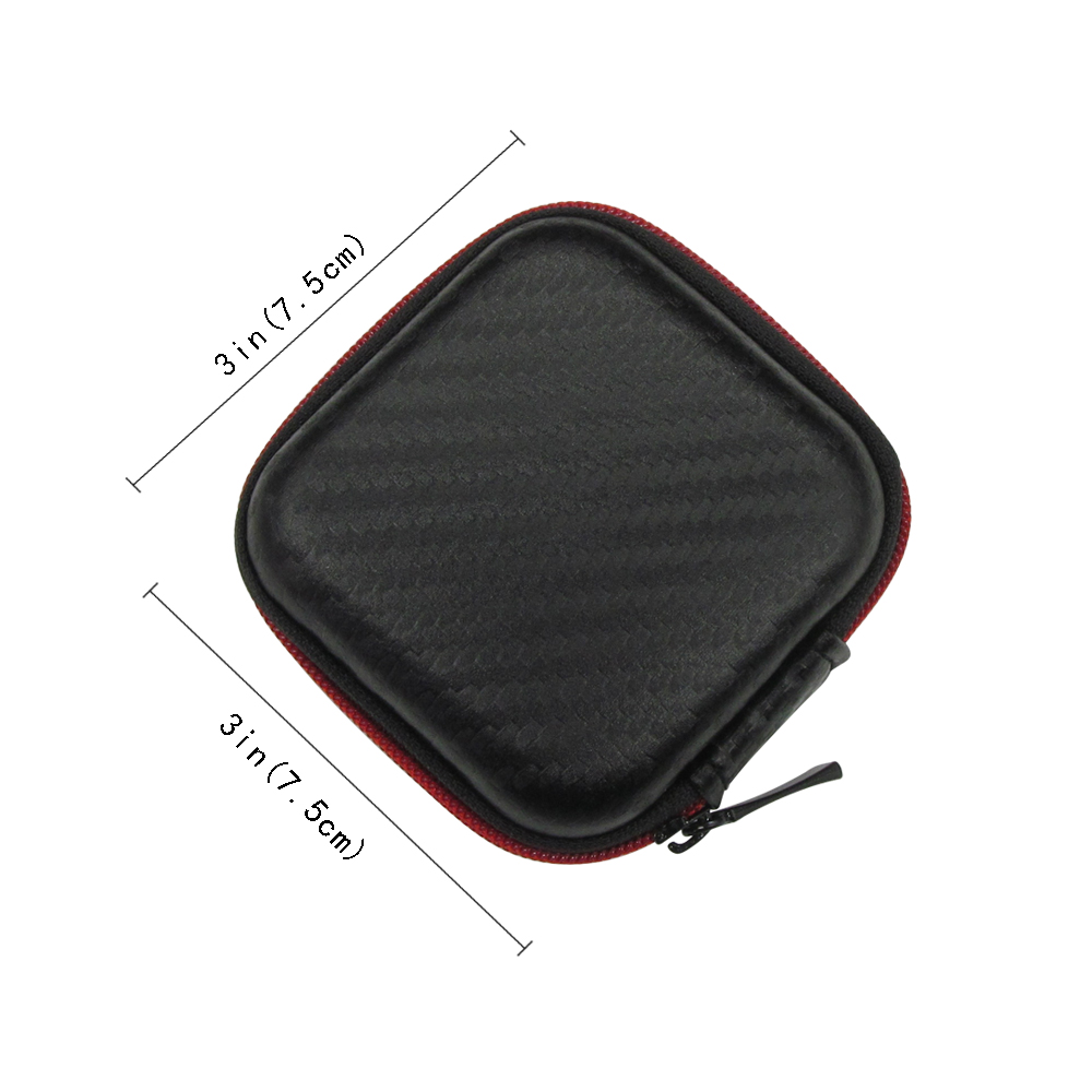 Image 4 - Portable Mini Earphone Case Box Hard EVA Headphone Storage Bag For Airpods Earpod Earbud Wireless Bluetooth Earphone Accessories-in Earphone Accessories from Consumer Electronics