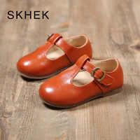SKHEK enfants filles princesse chaussures automne enfants filles fleur chaussures mode bébé enfants antidérapant chaussures décontractées mode V205