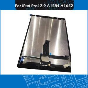 "Image 3 - Pantalla Completa A1584 A1652, montaje de pantalla táctil en blanco y negro, para iPad Pro, pantalla de 12,9 ""con placa"