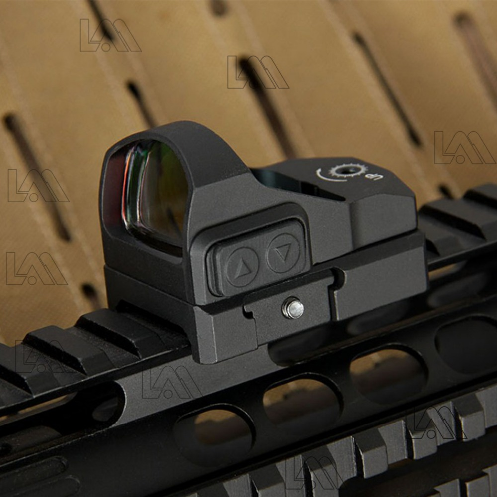 LAMBUL Tactical Venom Red Dot Sight Pistol Aiming Colt 1911 Glock Hunting Scope Sight Mount Holographic Reflex Sight