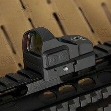LAMBUL Tactical Venom Red dot Sight Pistol Aiming Colt 1911 Glock Hunting Scope