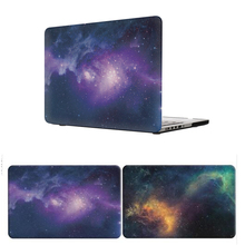 Purple Star Hard Laptop Bag Case for Apple Macbook Air Pro Retina 11 12 13 15 Mac book Cover Shell