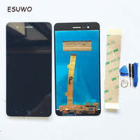 ESUWO LCD Display With Touch Screen For ZTE Blade A510 LCD Digitizer Assembly Replacement Black Color
