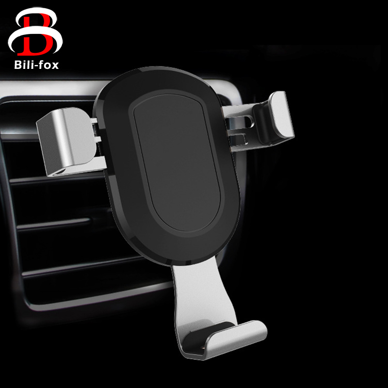 Luxury font b Car b font Phone Holder Stand Automatic for Samsung S8 S6 Adjustable Universal