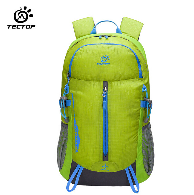 TECTOP 30L Waterproof Travel Backpack Camping Hiking Men Women Rucksack Computer Backpack Outdoor font b Sports