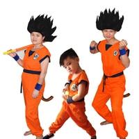 10 pçs/lote Sete dragon ball Sun Wukong traje adulto e infantil tartaruga traje cosplay Traje de Halloween