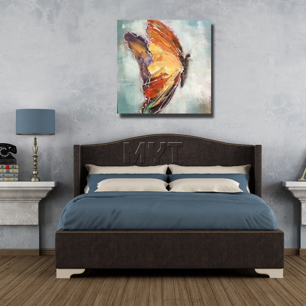 paintings for bedroom. Painting Brush Wall Pictures Modern Decoration Art Bedroom Decor  High Quality Beautiful Butterfly Oil in Calligraphy from