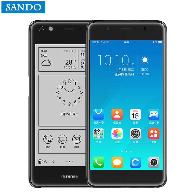 Hisense A2 Pro S9 A2T telefon 4G fingerprint mobile phone snapdragon 625 5.5 Amoled screen android Smart phone s9 S8 S7 cell