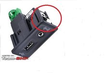 Oem carplay usb aux carplay mdi usb ami instalar tomada chicote de fios para golfe 7 mk7 5qd035762e 5g0035222e