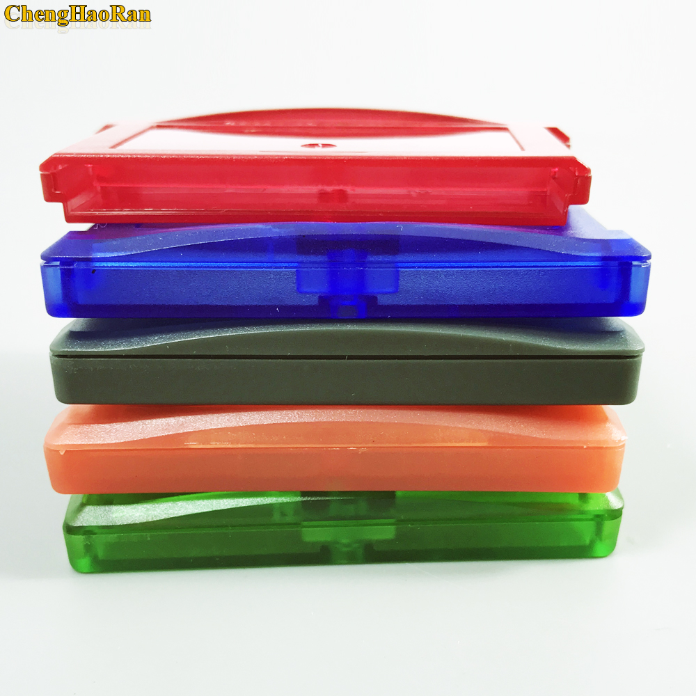 Image 5 - ChengHaoRan 5 color available 1pc For Nintendo GBA, GBA SP, GBM, NDS game cassette shell game card box card holder-in Replacement Parts & Accessories from Consumer Electronics