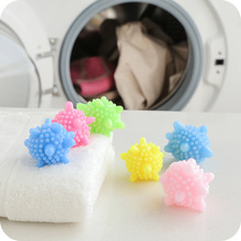 10PCS Home Reusable Solid Cleaning Balls Magic Laundry Balls For Household Cleaning Clothes Balls Dryer Softener Washing Machine made in china yg8 20mm alloy balls tungsten carbide balls for machine measurement chemical industry petroleum gun